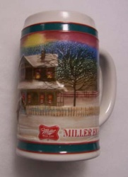 1985 Miller Holiday Beer Stein