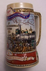 1988 Miller Holiday Beer Stein