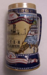 1989 Miller Holiday Beer Stein