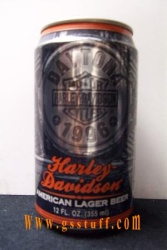 Harley Daytona Beer Can 1996