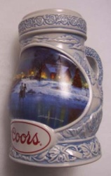 1997 Coors Holiday Beer Stein