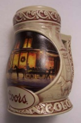 1998 Coors Holiday Beer Stein