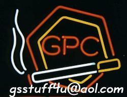 GPC Cigarettes Neon Sign