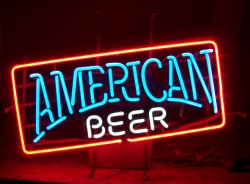 *NEW OCTOBER LIST* American Beer Vintage Neon Bar Sign Light American Beer Vintage Neon Bar Sign Light American Beer Vintage Neon Bar Sign Light americanbeer 1