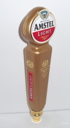 amstel light beer tap handle
