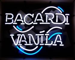 Bacardi Vanila Rum Neon Sign