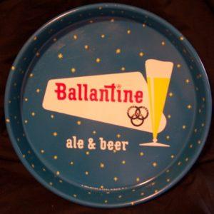 Ballantine Ale Beer Tray