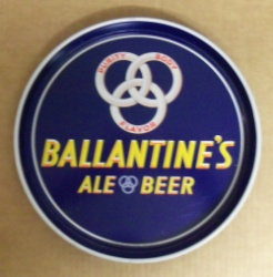 Ballantine Ale Beer Tray