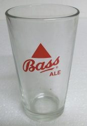 Bass Ale Beer Bar Pint Glass