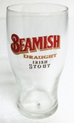 Beamish Draught Irish Stout Beer Bar Tulip Glass