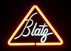 Blatz Neon Beer Bar Sign Light  MY BEER SIGN COLLECTION – Not for sale but can be bought… blatz