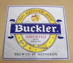 Heineken Buckler Beer TOC Sign