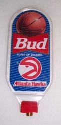Bud Atlanta Hawks NBA Beer Bar Tap Handle