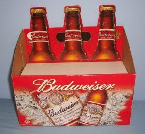 Budweiser Beer Display budweiser beer display Budweiser Beer Display budbottlecardboardpos 300x276