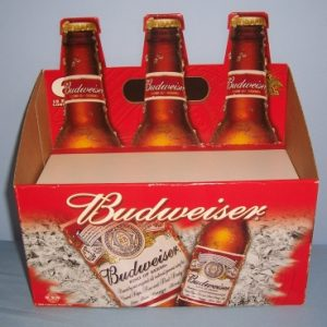 Budweiser Beer Display