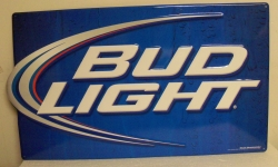 Bud Light Iconic Beer Bar Tin Tacker Sign Bud Light Iconic Beer Bar Tin Tacker Sign Bud Light Iconic Beer Bar Tin Tacker Sign budlighticonictin