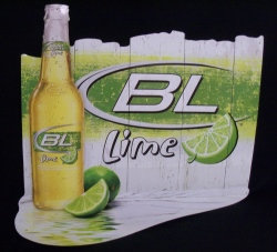 Bud Light Lime Beer Tin Sign