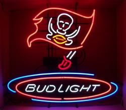 Bud Light NFL Tampa Bay Buccaneers NFL Neon Beer Bar Sign  MY BEER SIGN COLLECTION – Not for sale but can be bought… budlightnfltampabay