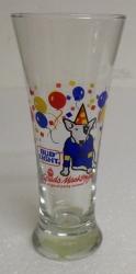 Bud Light Beer Spuds Mackenzie Glass