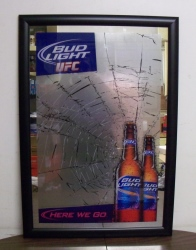 Bud Light UFC Beer Bar Mirror Bud Light UFC Beer Bar Mirror Bud Light UFC Beer Bar Mirror budlightufcmirror
