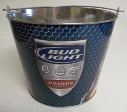Bud Light USARPS Beer Bar Tin Bucket