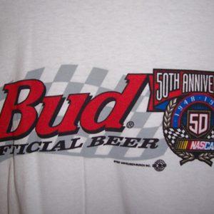 Budweiser Beer NASCAR T-Shirt