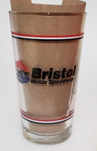 Budweiser Beer NASCAR Pint Glass