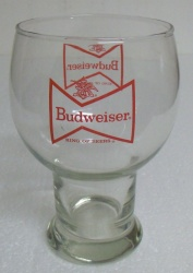 Budweiser Bowtie Bowl Beer Bar Glass  Budweiser Bowtie Bowl Beer Bar Glass budweiserbowtiebowlglass