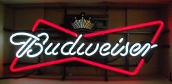 budweiser bowtie neon sign Budweiser Bowtie Neon Sign budweisercrownbowtie 1