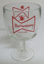 Budweiser Beer Goblet Glass