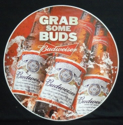Budweiser Beer Floor Sticker Sign