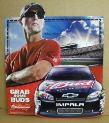Budweiser NASCAR Kevin Harvick Beer Bar Tin Tacker Sign Budweiser NASCAR Kevin Harvick Beer Bar Tin Tacker Sign Budweiser NASCAR Kevin Harvick Beer Bar Tin Tacker Sign budweiserkevinharvicknascartin