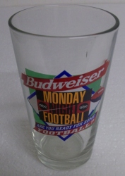 Budweiser Beer NFL Pint Glass