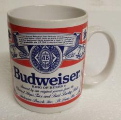 Budweiser Beer Ceramic Mug
