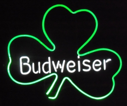 Budweiser Signs all products All Products budweisershamrock