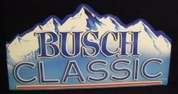 Busch Classic Beer Bar Tin Tacker Sign Busch Classic Beer Bar Tin Tacker Sign Busch Classic Beer Bar Tin Tacker Sign buschclassictin