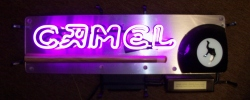 Camel Cigarette Pool Cue Neon Bar Sign Light  MY BEER SIGN COLLECTION – Not for sale but can be bought… camelpoolcue