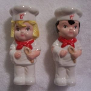 Campbell Kids Salt Pepper Set