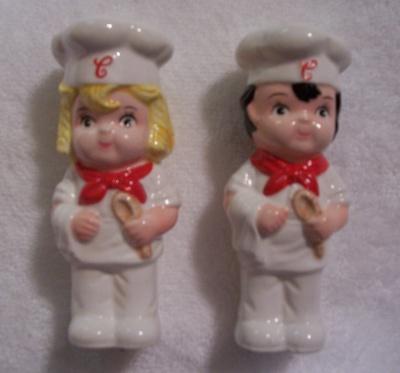Campbell Kids Salt Pepper Set
