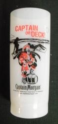 Captain Morgan Rum Plastic Refill Liquor Bar Set Of 4 Cups