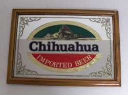 chihuahua beer after shock liquor bar mirror 5787