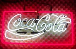 Coca Cola Soft Drink Neon Sign