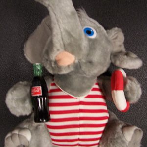 Coca Cola Plush Elephant