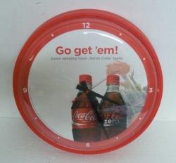 Coca Cola Coke Zero Wall Clock