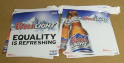 Coors Light Beer Banner