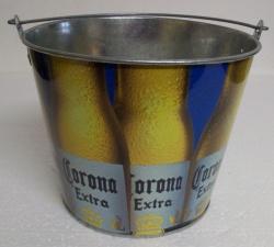 Corona Extra Beer Bar Tin Bucket