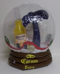 Corona Extra Beer Snow Globe Inflatable