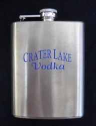 Crater Lake Vodka Travel Flask