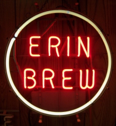 Erin Brew Cleveland Neon Beer Bar Sign Light  MY BEER SIGN COLLECTION – Not for sale but can be bought… erinbrewmine