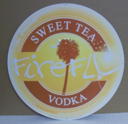 Firefly Sweet Tea Vodka Tin Sign